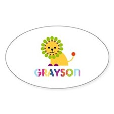 Grayson Loves Lions Decal