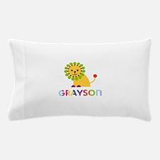 Grayson Loves Lions Pillow Case