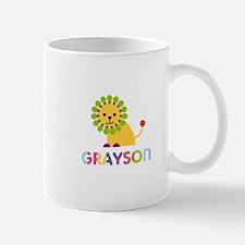 Grayson Loves Lions Small Small Mug