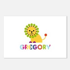 Gregory Loves Lions Postcards (Package of 8)