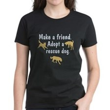 Adopt A Rescue Dog Tee