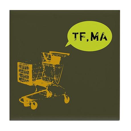 TF,MA Tile Coaster