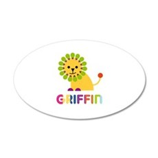 Griffin Loves Lions Wall Decal