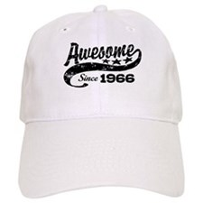Awesome Since 1966 Baseball Baseball Cap