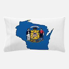 Wisconsin Flag Pillow Case