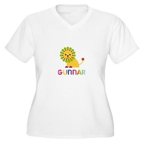 Gunnar Loves Lions Plus Size T-Shirt