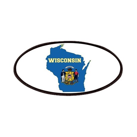 Wisconsin Flag Patches