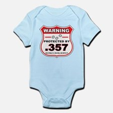 protected by 357 shield Body Suit