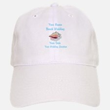 Custom Beach Wedding Baseball Baseball Baseball Cap