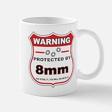 protected by 8mm shield Mug