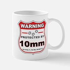 protected by 10mm shield Mug