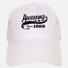 Awesome Since 1969 Baseball Baseball Cap