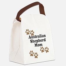 Australian Shepherd Mom Canvas Lunch Bag