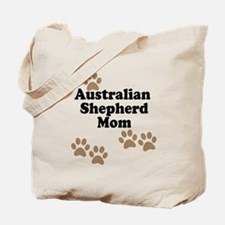 Australian Shepherd Mom Tote Bag