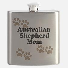 Australian Shepherd Mom Flask