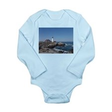 Maine Lighthouse Body Suit