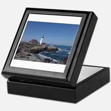 Maine Lighthouse Keepsake Box
