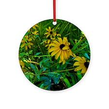 Black-Eyed Susans Ornament (Round)