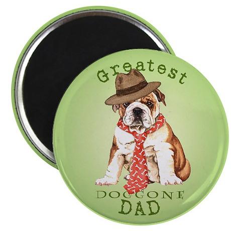 Bulldog Dad Magnet