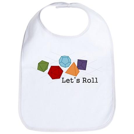 Let's Roll Bib