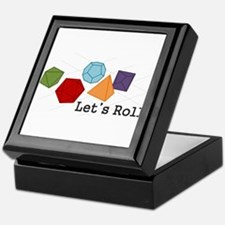 Let's Roll Keepsake Box