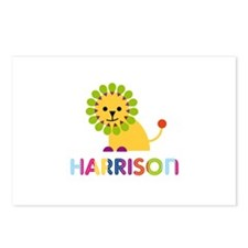 Harrison Loves Lions Postcards (Package of 8)