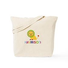 Harrison Loves Lions Tote Bag