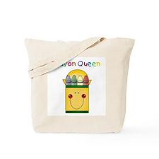 Crayon Queen Tote Bag