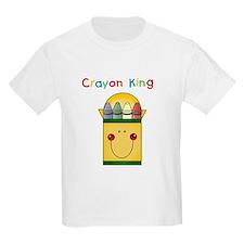 Crayon King Kids T-Shirt