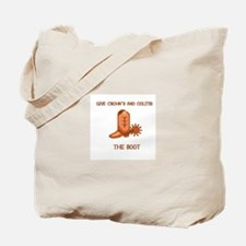 Give Crohn's and Colitis the boot Tote Bag