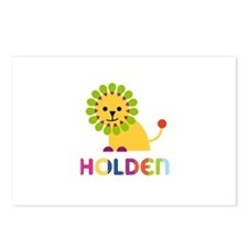Holden Loves Lions Postcards (Package of 8)