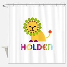 Holden Loves Lions Shower Curtain