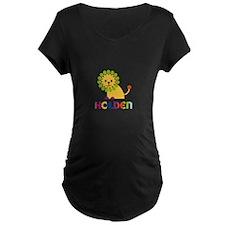 Holden Loves Lions Maternity T-Shirt