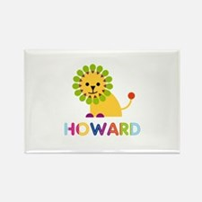 Howard Loves Lions Rectangle Magnet