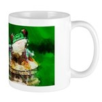Frog Watercolor Painting Mug