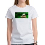 Frog Watercolor Painting Women's T-Shirt