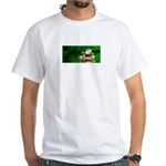 Frog Watercolor Painting White T-Shirt