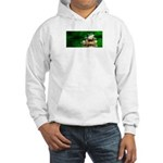 Frog Watercolor Painting Hooded Sweatshirt