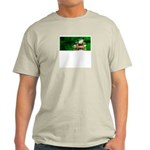 Frog Watercolor Painting Light T-Shirt