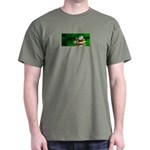 Frog Watercolor Painting Dark T-Shirt