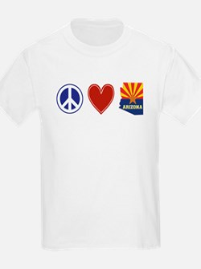Peace Love Arizona T-Shirt