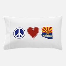 Peace Love Arizona Pillow Case