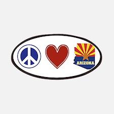 Peace Love Arizona Patches