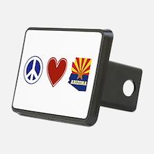 Peace Love Arizona Hitch Cover