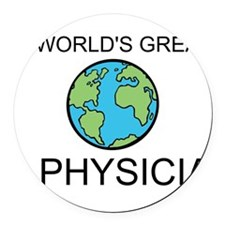 Worlds Greatest Physician Round Car Magnet