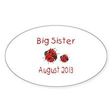 Big Sister Ladybug 0813 Decal