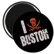 I Jolly Roger Boston Magnet