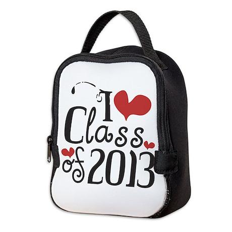 I heart Class of 2013 Neoprene Lunch Bag