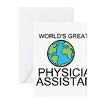 Worlds Greatest Physician Assistant Greeting Cards