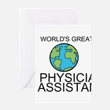 Worlds Greatest Physician Assistant Greeting Card